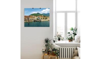 Artland Wandbild »Cannobio am Lago Maggiore« kaufen