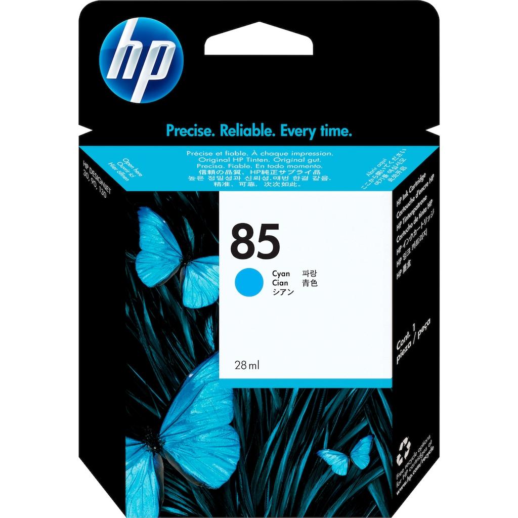 HP Tintenpatrone »hp 85 Original Cyan«