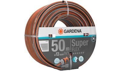 """GARDENA Gartenschlauch »Premium SuperFLEX, 18099 - 20«, 13 mm (1/2""""), 50 Meter kaufen"""