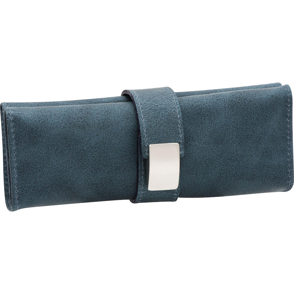 ERBE Maniküre-Etui »Wickeletui aus echtem Leder«, bestückt mit Solinger Premium Stahlwaren