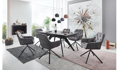 NIEHOFF SITZMÖBEL Stuhl »Update«, 180° drehbar mit Rückholfunktion, 2er-Set kaufen