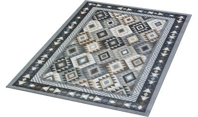Teppich, »Santa Fe«, wash+dry by Kleen - Tex, rechteckig, Höhe 9 mm, gedruckt kaufen