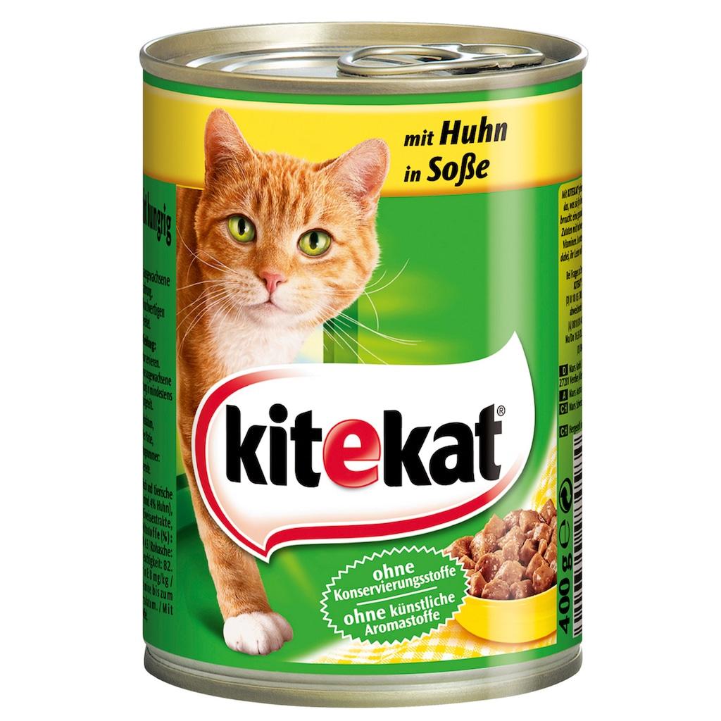 Kitekat Katzennassfutter »Huhn«