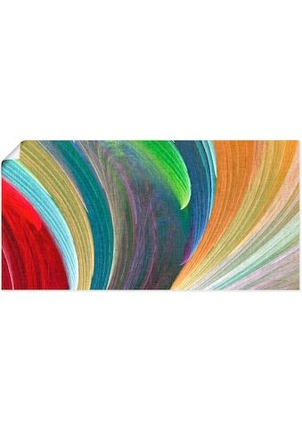 Artland Wandbild »Windwellen III«, Muster, (1 St.), in vielen Größen & Produktarten -... kaufen