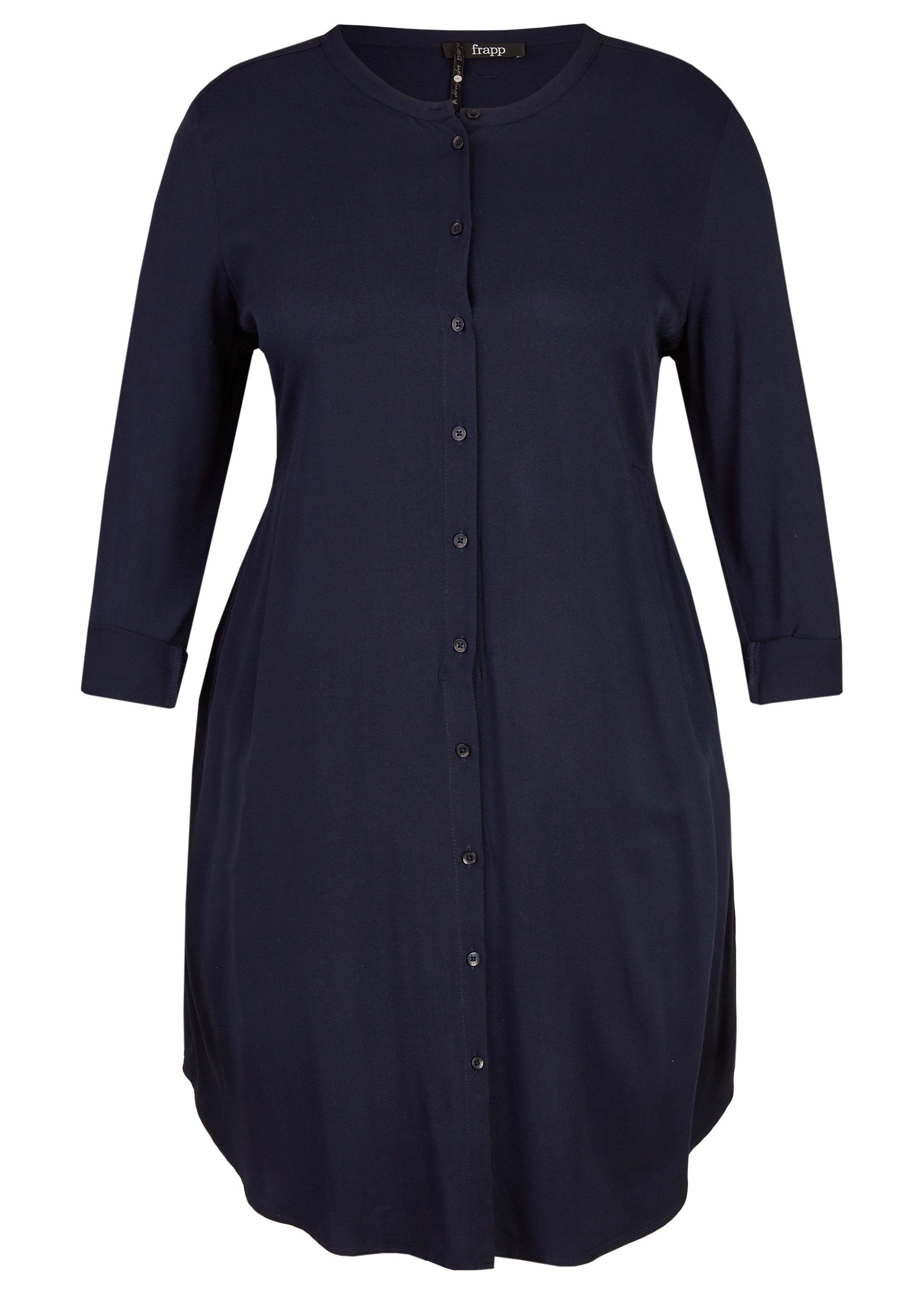 frapp -  Schlichtes Hemd-Kleid mit Knopfleiste