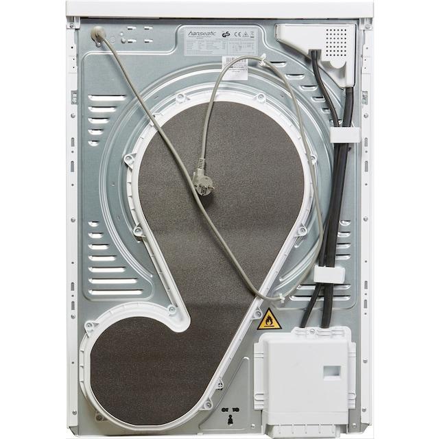 Hanseatic Wärmepumpentrockner HWT8A3GT, 8 kg