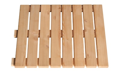 BM Massivholz Holzfliesen, Lärche, 50x50 cm, 20m² kaufen
