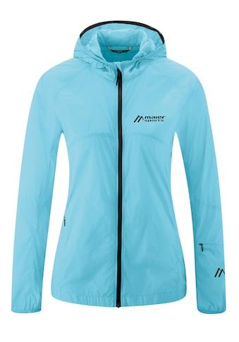 Maier Sports Funktionsjacke »Feathery W«, Leichte Windjacke mit besonders kleinem Packmaß kaufen