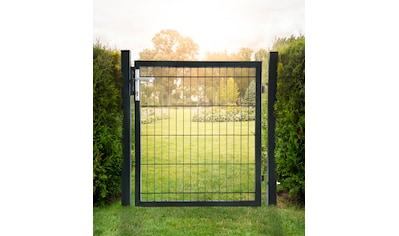 HOME DELUXE Gartentor , für Doppelstabmatten, HxL: 1,4x1,0 Meter kaufen