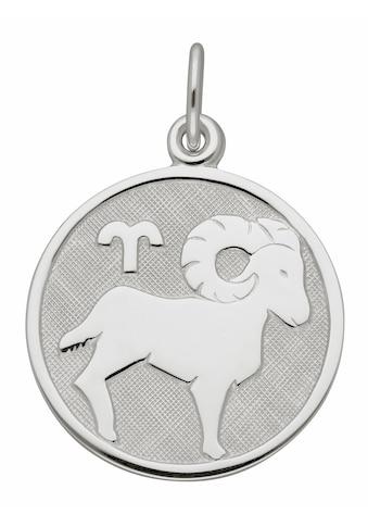 Adelia´s Kettenanhänger »925 Silber Sternzeichen Anhänger Widder Ø 15,7 mm« kaufen