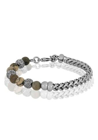 JULES & GENTS Armband »#lava Braun«, Armband kaufen