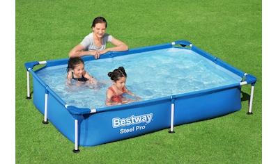 Bestway Rechteckpool »Steel Pro™ Frame«, für Kinder, BxLxH: 150x221x43 cm kaufen