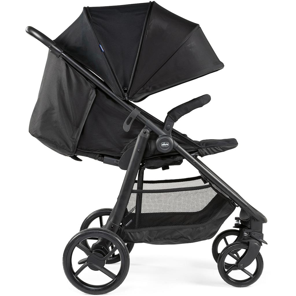 Chicco Sport-Kinderwagen »Multiride, Jet Black«, 22 kg, XXL-Verdeck mit SPF UV50+; Kinderwagen, Buggy, Sportwagen, Kinder-Buggy, Kinderbuggy