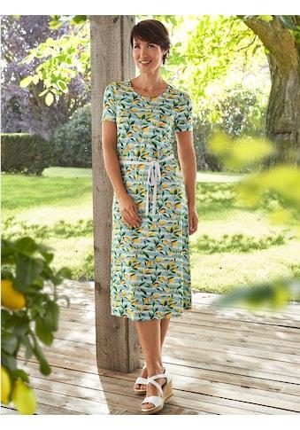 Paola Jerseykleid, mit Zitronendruck kaufen