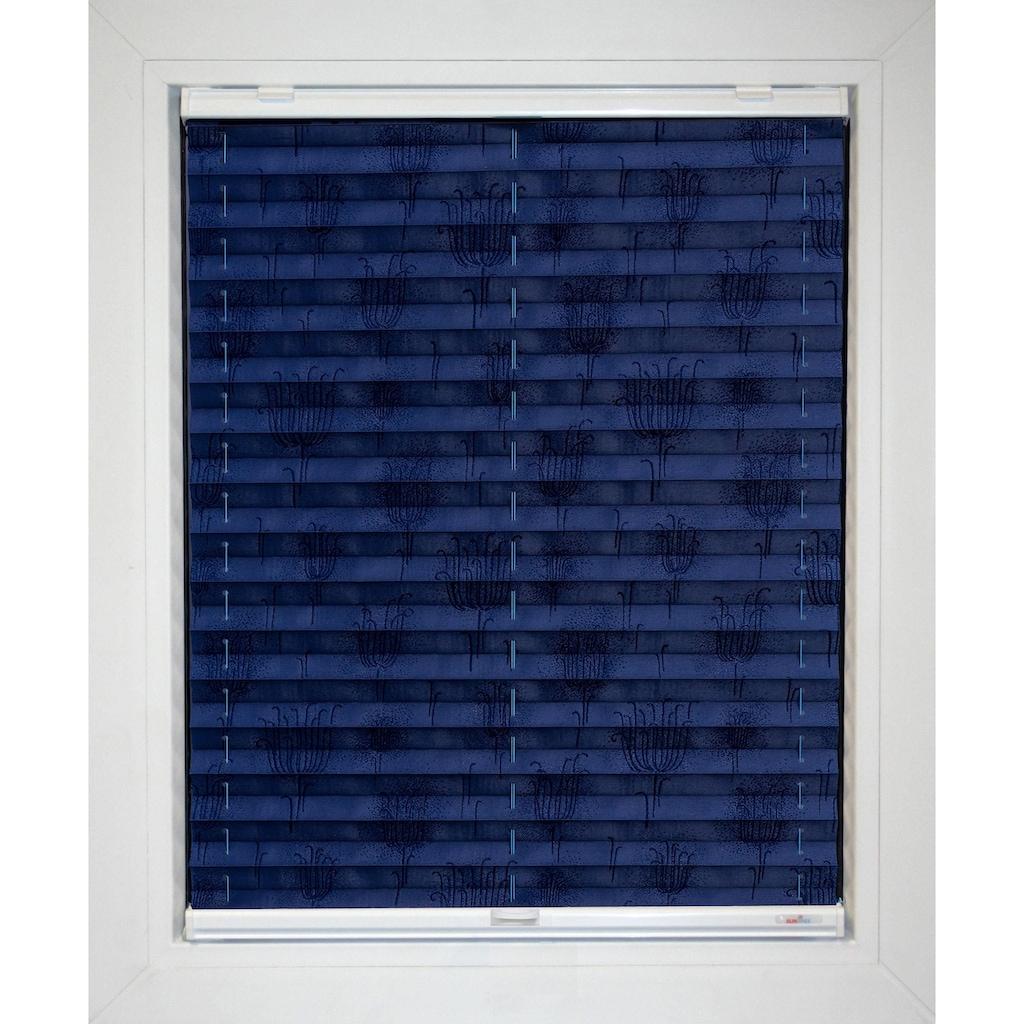 Plissee nach Maß, »Blue Line«, sunlines, Lichtschutz, mit Bohren, verspannt