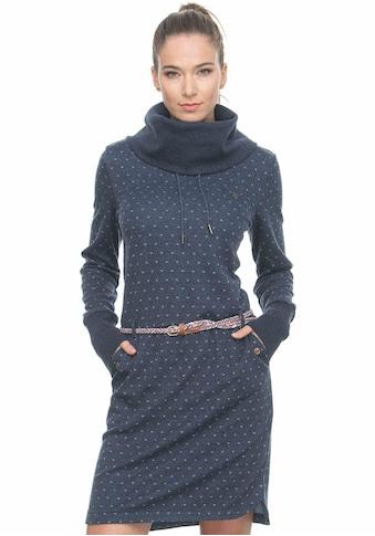 Ragwear Jerseykleid »LAURRA B«, (2 tlg., mit abnehmbarem Gürtel), mit Allover-Print kaufen