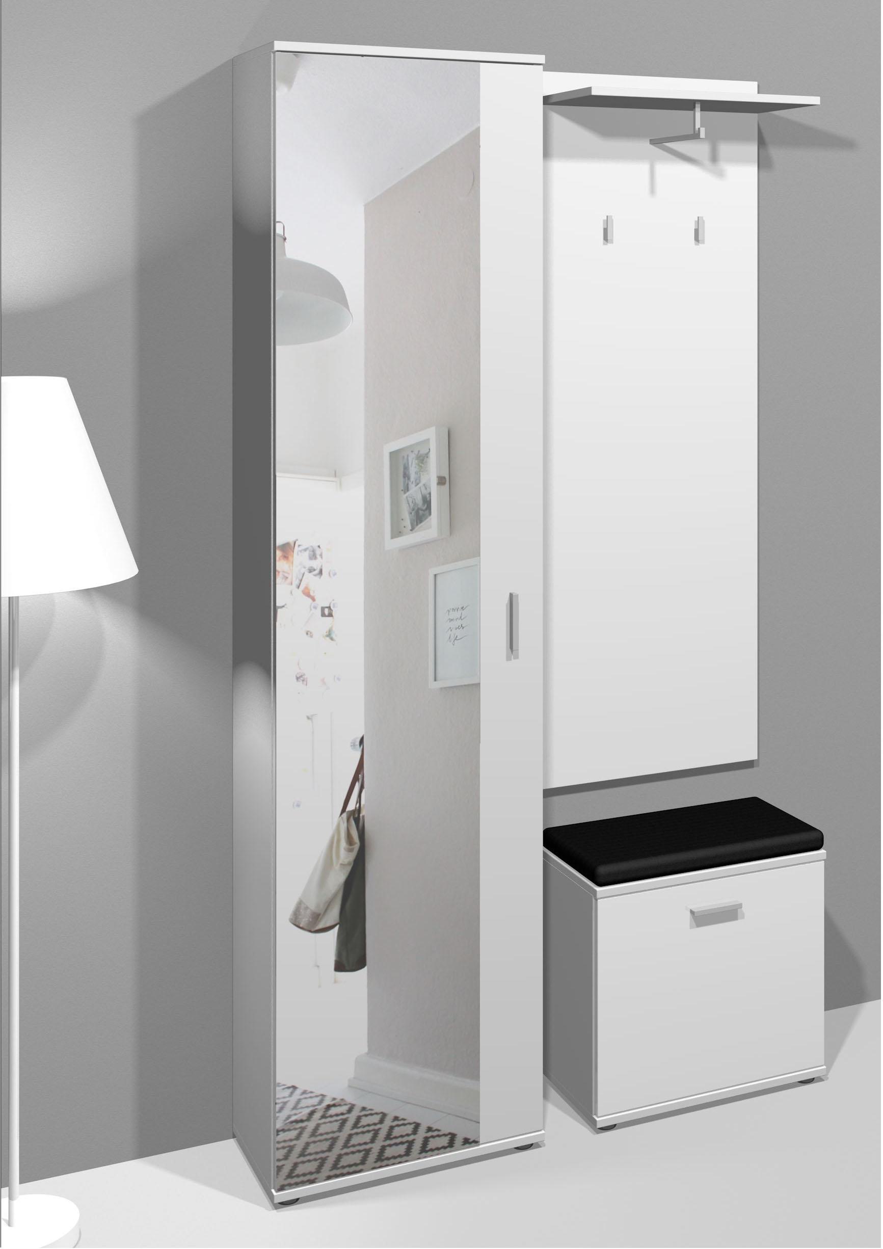 Homexperts Garderoben-Set Justus (Set, 3-tlg) günstig online kaufen