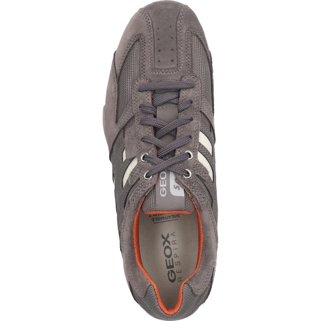 Geox Sneaker »Veloursleder/Mesh«
