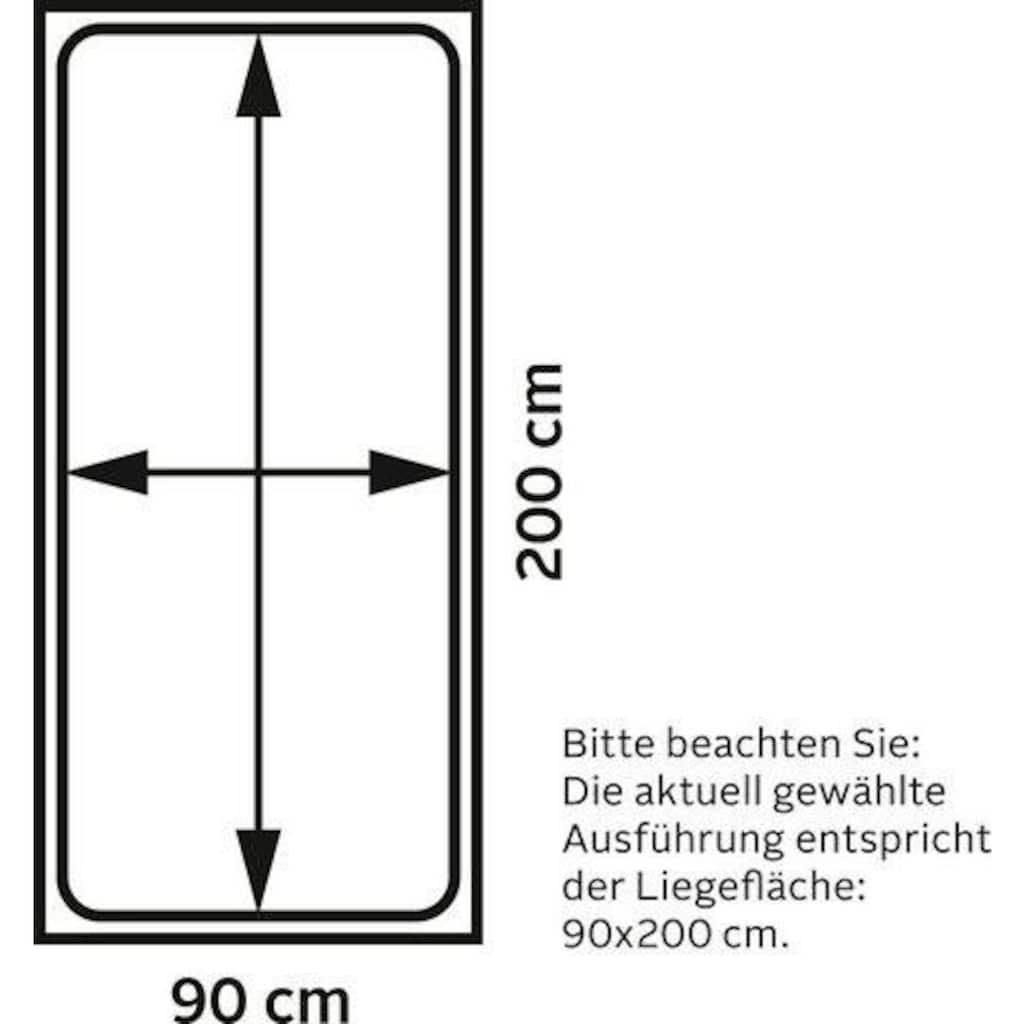 Westfalia Schlafkomfort Boxspringbett, mit LED-Beleuchtung