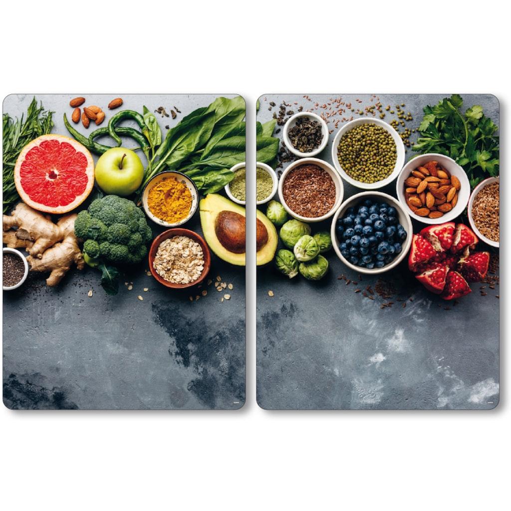 KESPER for kitchen & home Herdblende-/Abdeckplatte »Healthy Kitchen«