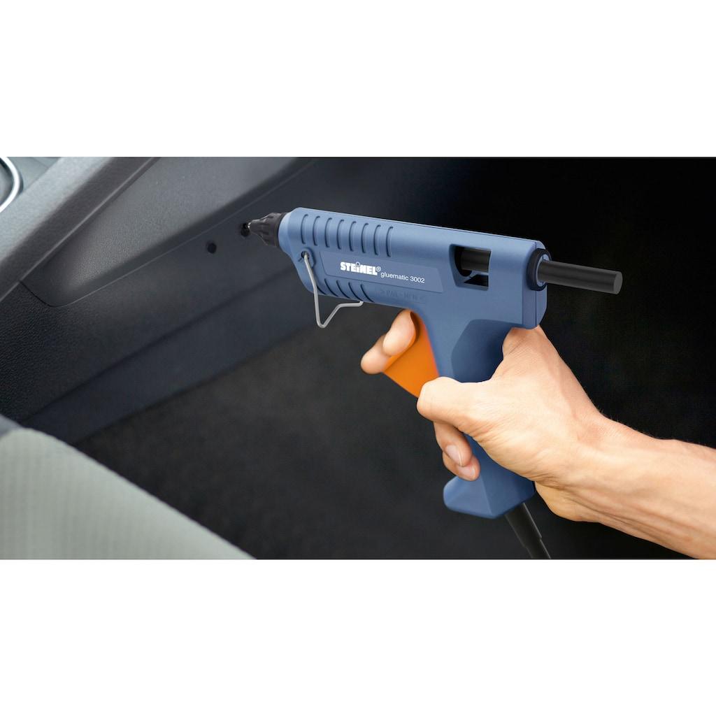 steinel Heißklebepistole »Gluematic 3002«, wechselbare Düsen, inkl. 8 Klebesticks ∅ 11 mm, Koffer