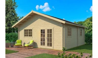 WEKA Gartenhaus »Weekendhaus 703 - 3«, BxT: 752x780 cm kaufen