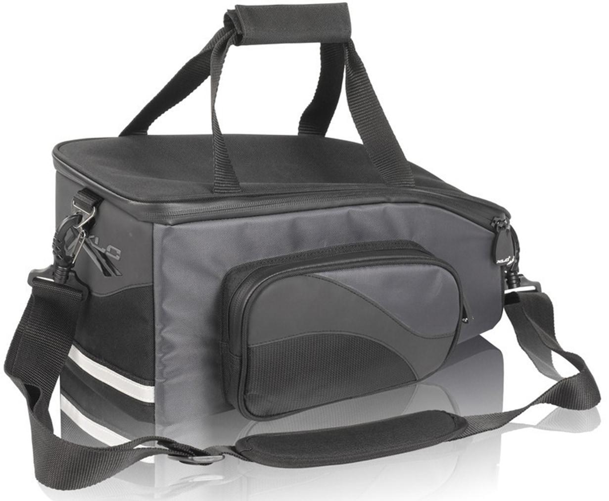 XLC Gepäckträgertasche System Gepäckträgertasche, schwarz