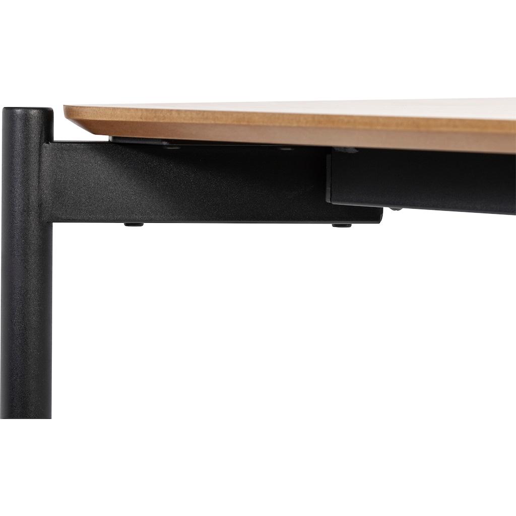 Homexperts Couchtisch »Ida«, (BxT) 90 x 45 cm, rechteckig, in Eiche natur oder schwarz lackiert