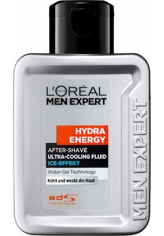 L'ORÉAL PARIS MEN EXPERT After-Shave »Hydra Energy Fluid Ice Effect«, kühlt & weckt... kaufen