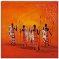 Artland Wandbild »Afrikanische Männer«, Mann, (1 St.)