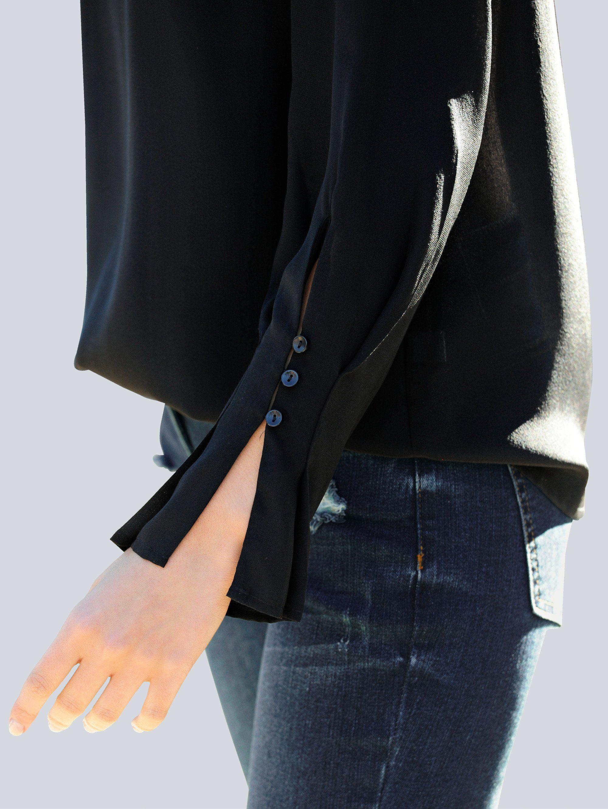 Alba Moda Bluse in hochwertiger Seidenqualität
