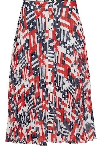 TOMMY JEANS Plisseerock »TJW PLEATED BUTTON THRU SKIRT« kaufen