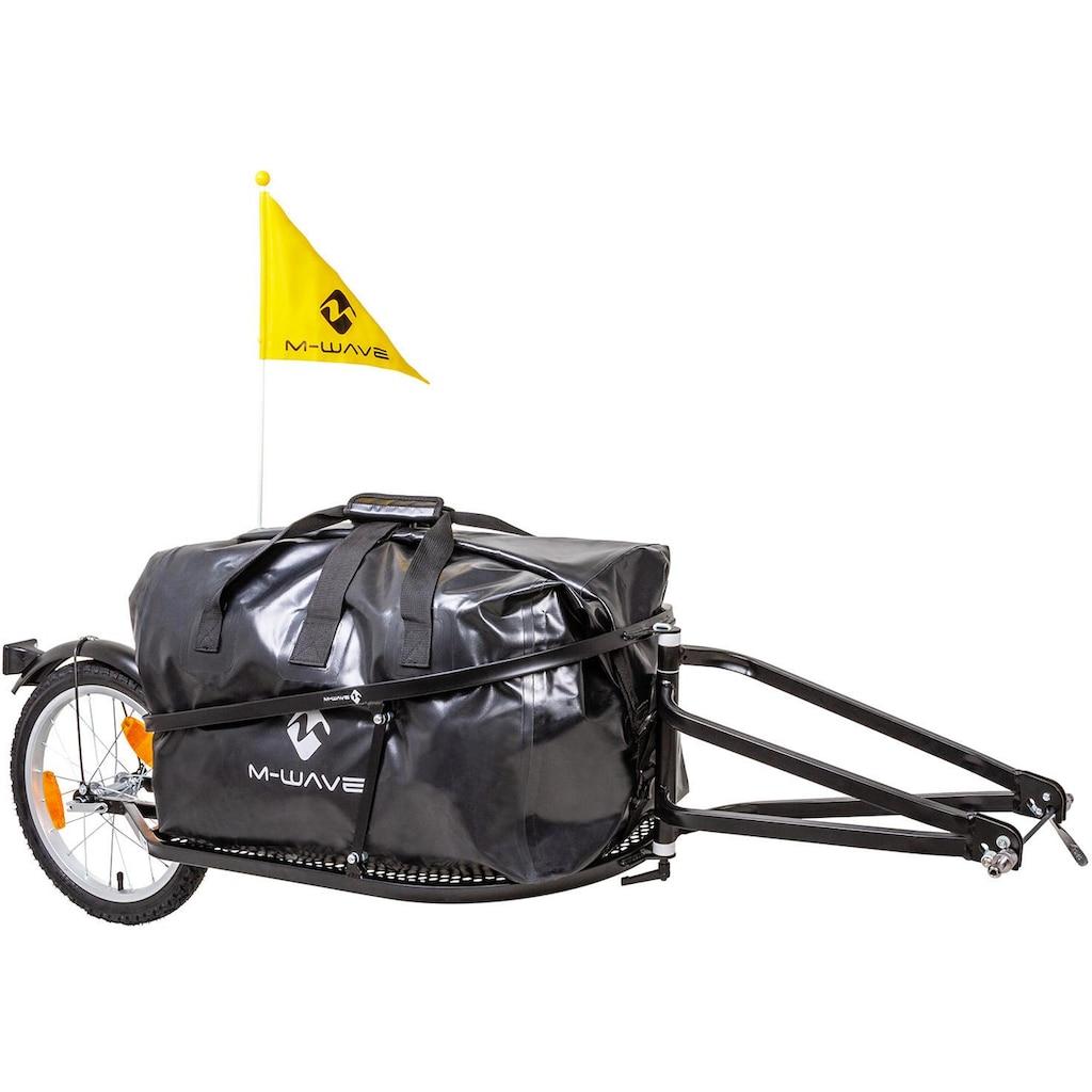 M-Wave Fahrradlastenanhänger »Single 40«