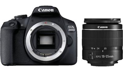 Canon »EOS 2000D Kit 18 - 55 mm DC III« Spiegelreflexkamera (EF - S 18 - 55mm f/3.5 - 5.6 III, 24,1 MP, WLAN (WiFi) NFC) kaufen