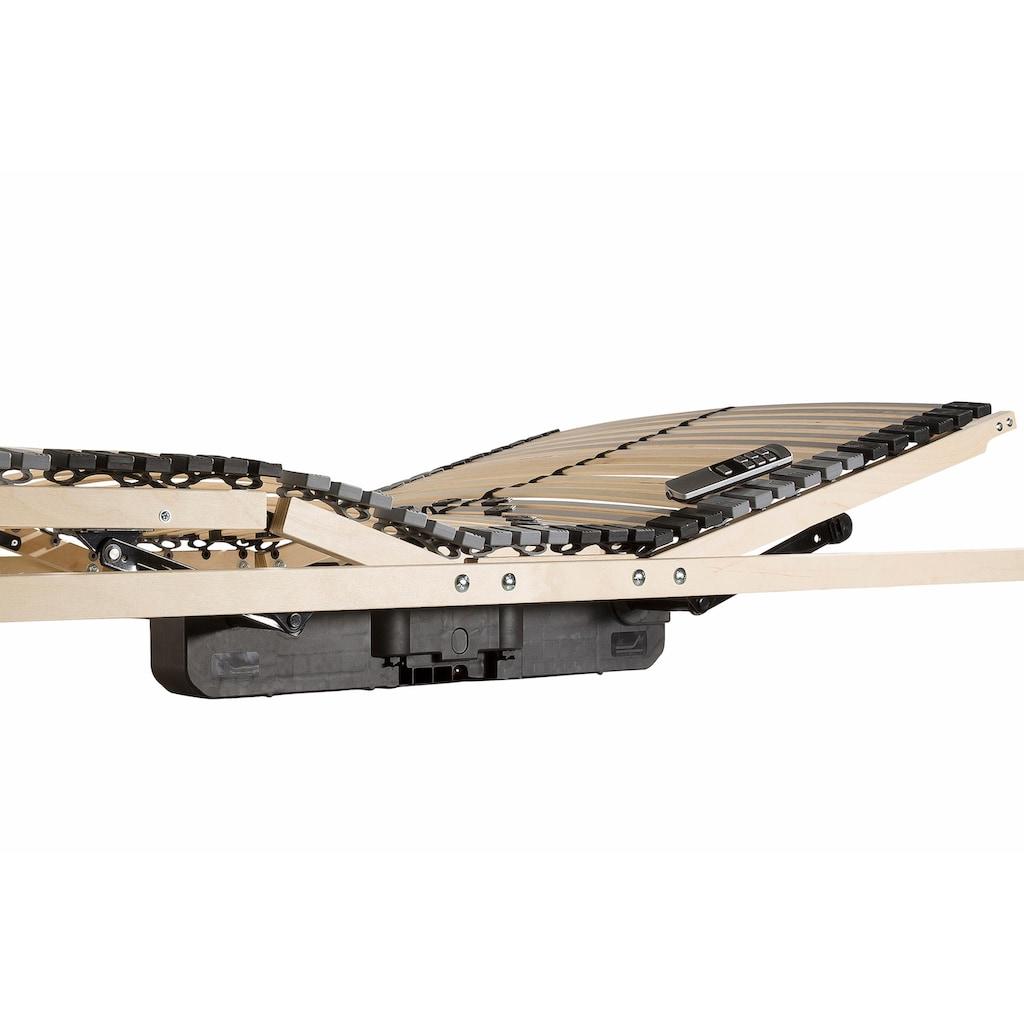 BeCo EXCLUSIV Lattenrost mit Motor »Flex Motor Funk«, (1 St.), elektrischer Höhenverstellung
