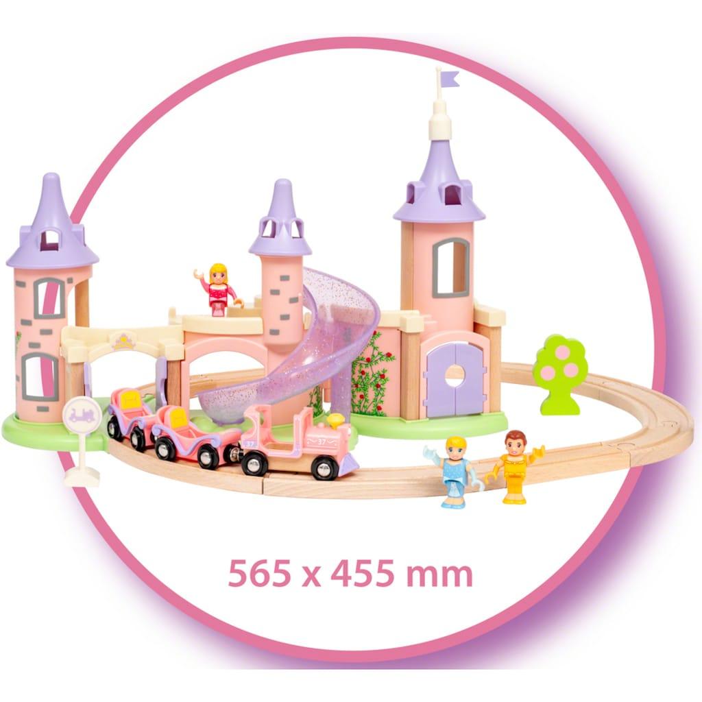 BRIO® Spielzeug-Eisenbahn »Disney Princess Traumschloss Set«, FSC® - schützt Wald - weltweit