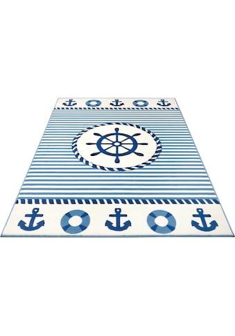 HANSE Home Kinderteppich »Sail Away«, rechteckig, 9 mm Höhe kaufen