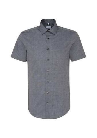 seidensticker Businesshemd »Slim«, Slim Kurzarm Kentkragen Uni kaufen