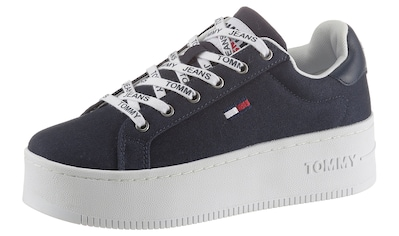 TOMMY JEANS Plateausneaker »ICONIC ESSENTIAL FLATFORM« kaufen