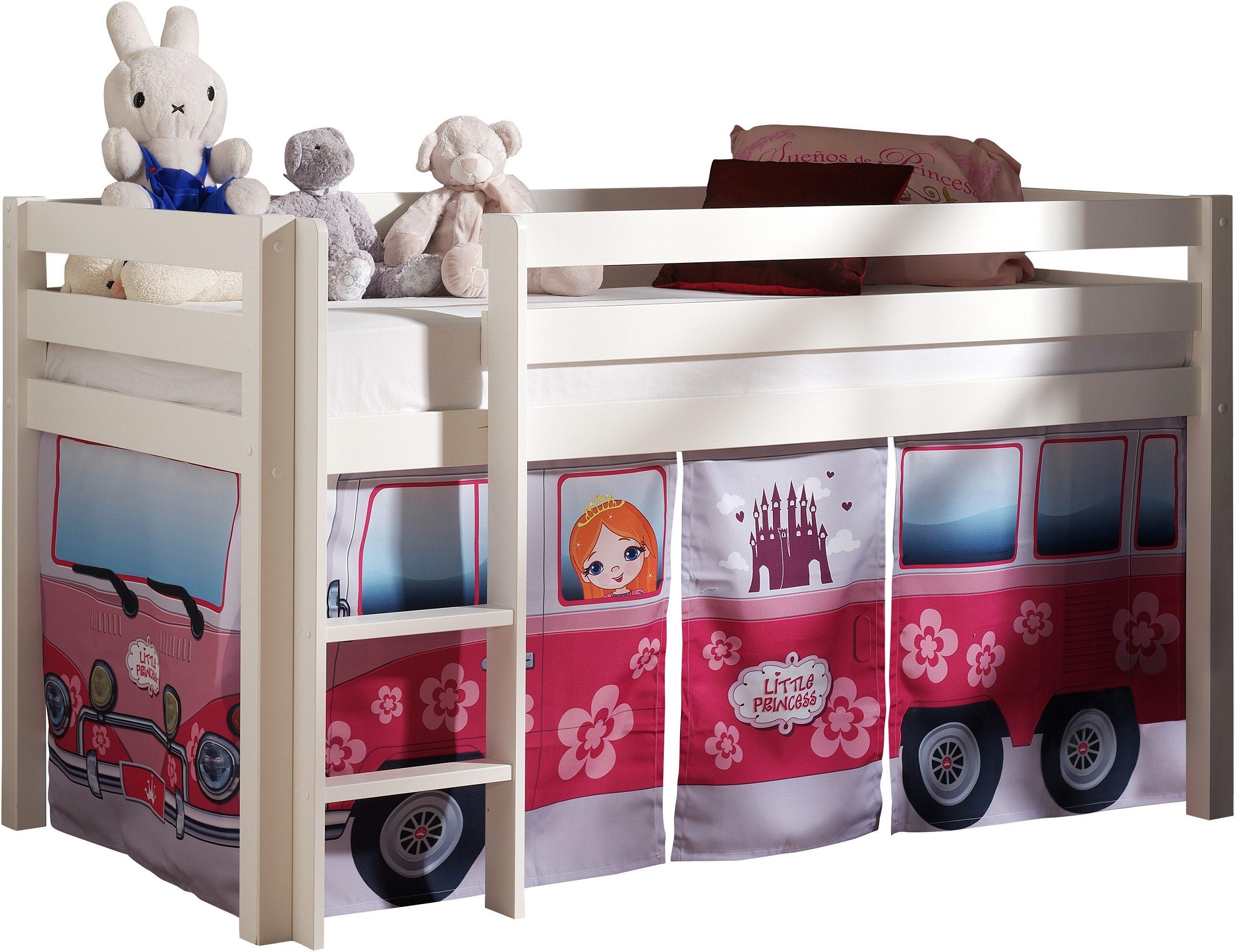 Hochbett Vipack Furniture | Kinderzimmer > Kinderbetten > Hochbetten | Massiver - Kiefer | Vipack Furniture