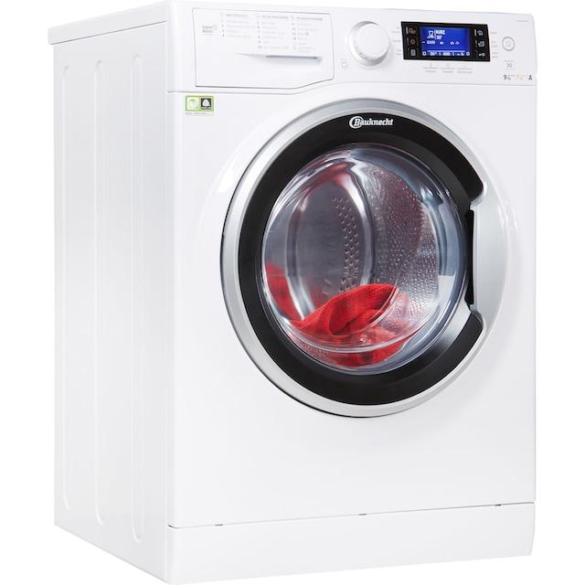 BAUKNECHT Waschtrockner WATK Sense 97D6, 9 kg / 7 kg, 1600 U/Min