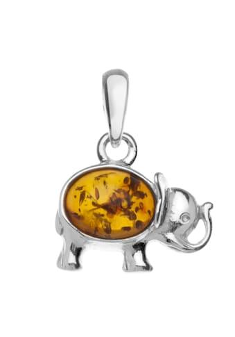 OSTSEE-SCHMUCK Kettenanhänger »- Elefant - Silber 925/000 - Bernstein«, (1 tlg.) kaufen