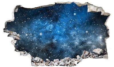 Wall-Art Wandtattoo »Universum Sticker 3D Weltraum« kaufen
