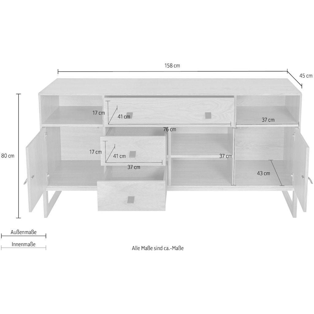 Woodman Sideboard »Tatjana«, Breite 158 cm