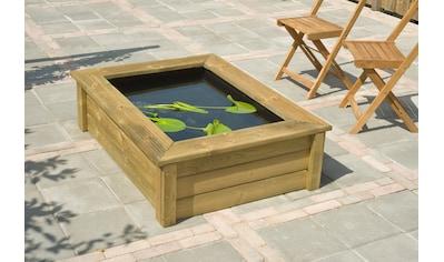 UBBINK Verkleidung »QUADRO Wood I«, für Teichbecken Quadro 5 kaufen