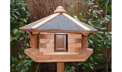 promadino Vogelhaus »Fehmarn«, BxTxH: 59x57x141 cm, mit Standbein kaufen