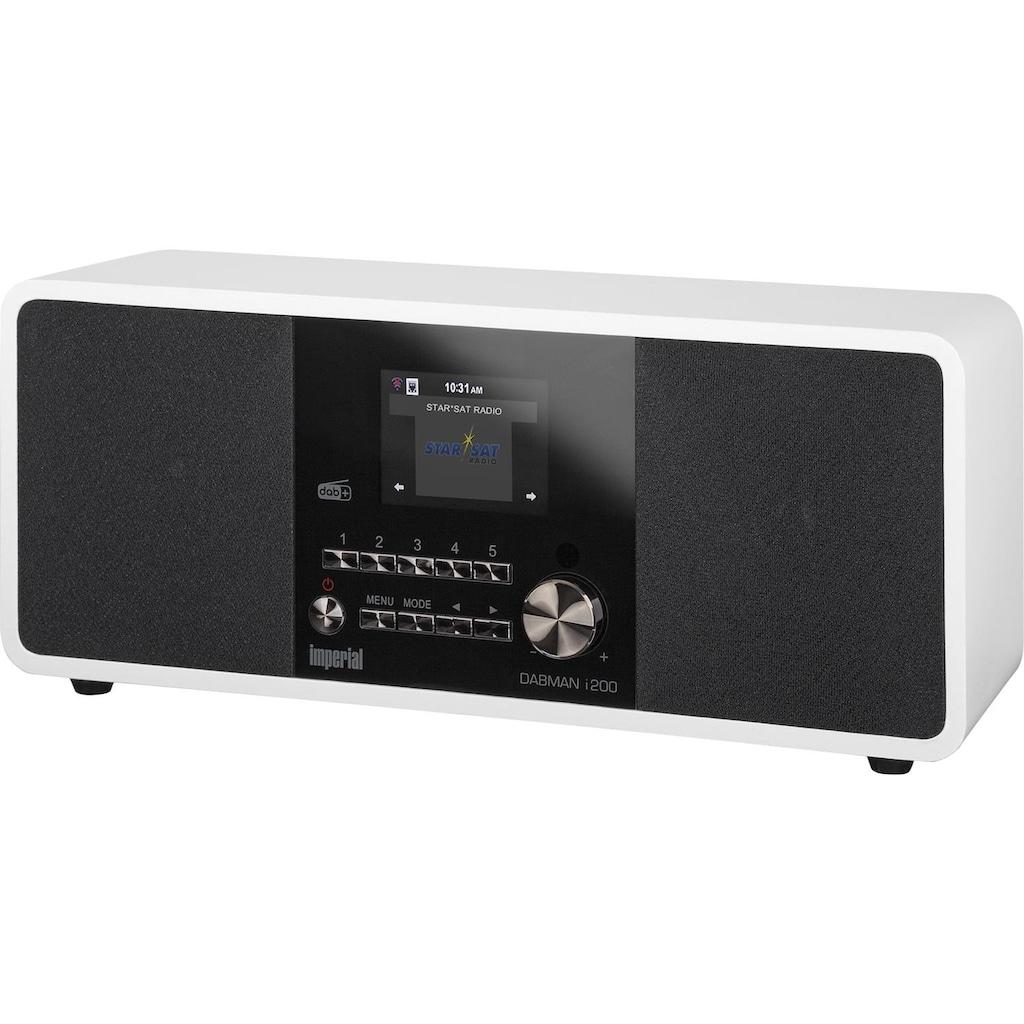 IMPERIAL Digitalradio für DAB+ & Internetradio (WLAN, UPnP, Spotify)