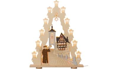 Weigla Schwibbogen »Rothenburg ob der Tauber«, 15-flammig kaufen