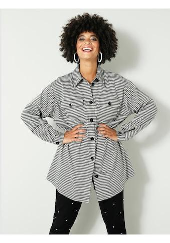 Angel of Style by HAPPYsize Klassische Bluse, mit grafischem Muster kaufen