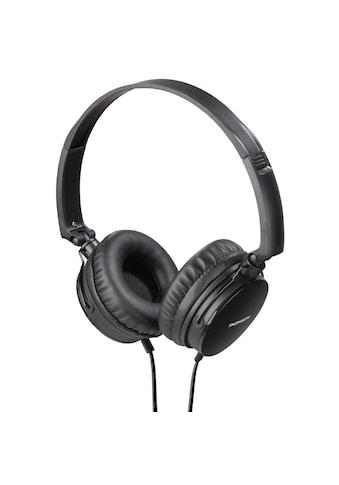 Thomson On - Ear Kopfhörer, Headset, mit flachem Kabel »Telefon - Funktion, HED2207BK« kaufen